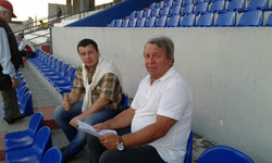 Together with Scouting Director of RSC Anderlecht - Asuncion, Paraguay