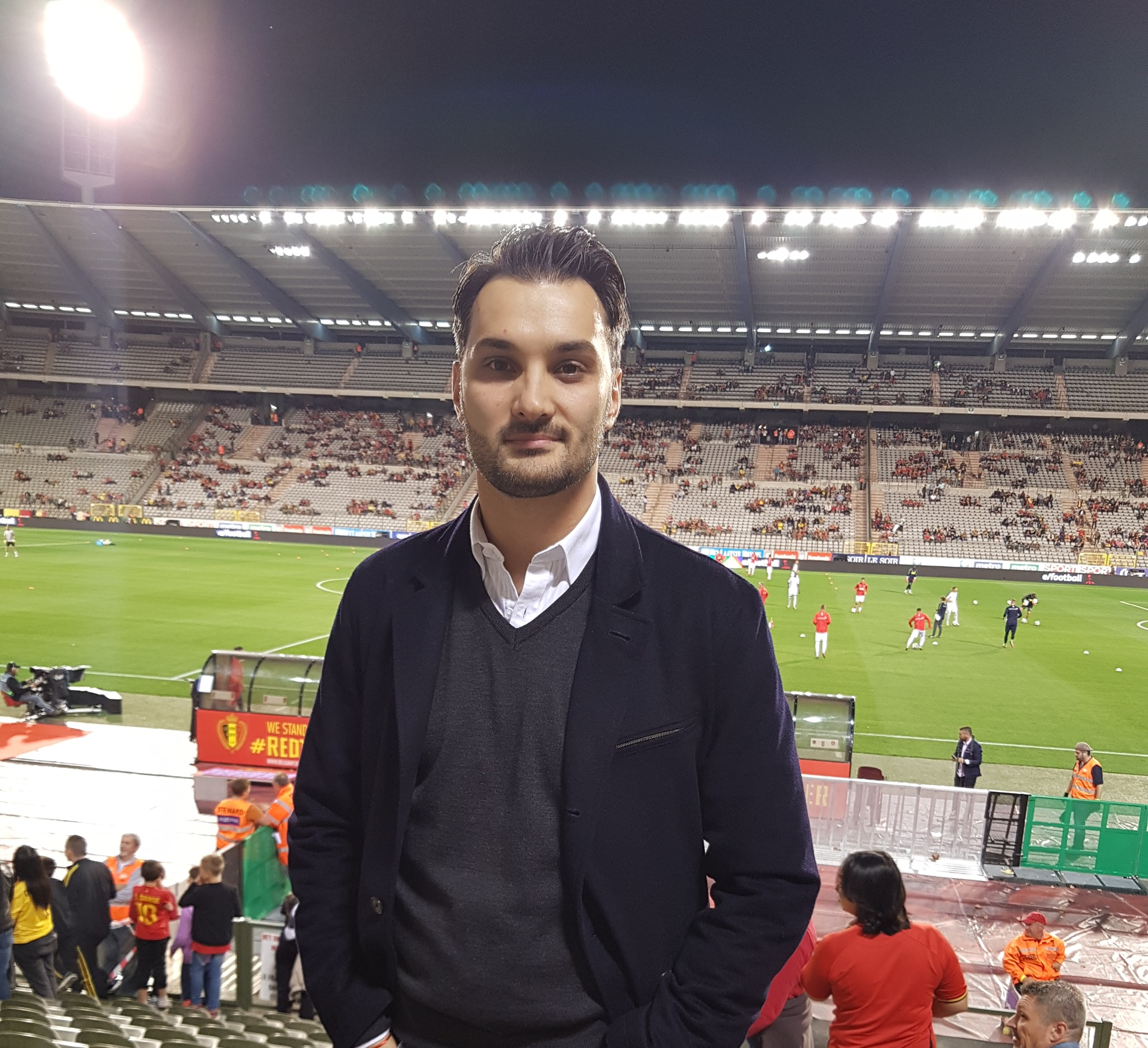 Attending Belgium vs Switzerland