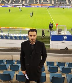 Attending KAA Gent vs Kortrijk KV - Belgium