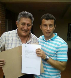 Together with Julio Cesar Romero, one of the best football players in Paraguay history