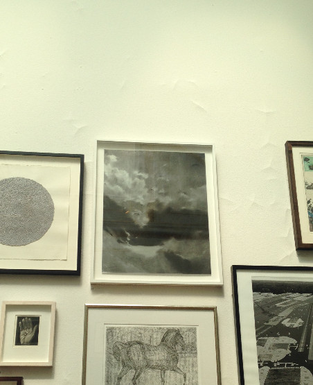 #57, hanging in the Print Room at the RA summer show