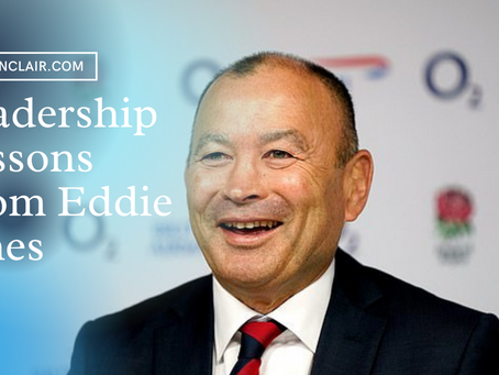 5 Leadership Lessons From Eddie Jones | High-Performance Podcast
