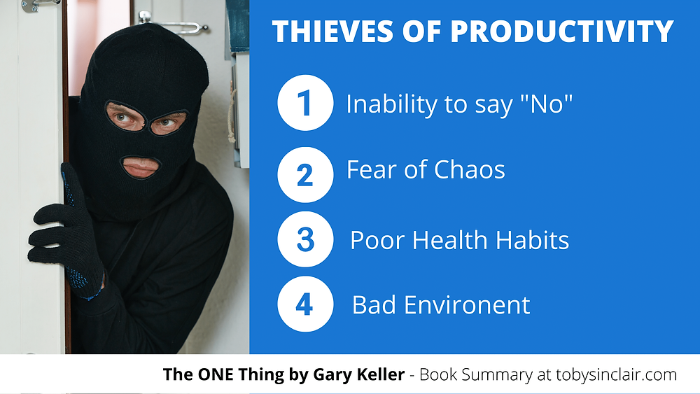 Four Thieves of Productivity