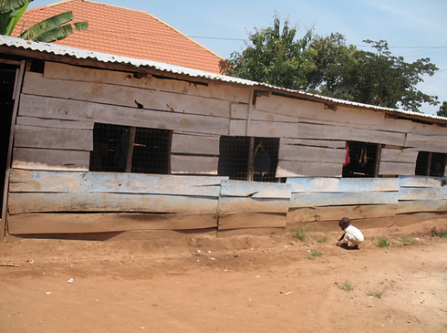 Existing School in Kiti Village Uganda