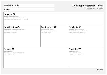 Workshop Planning Template