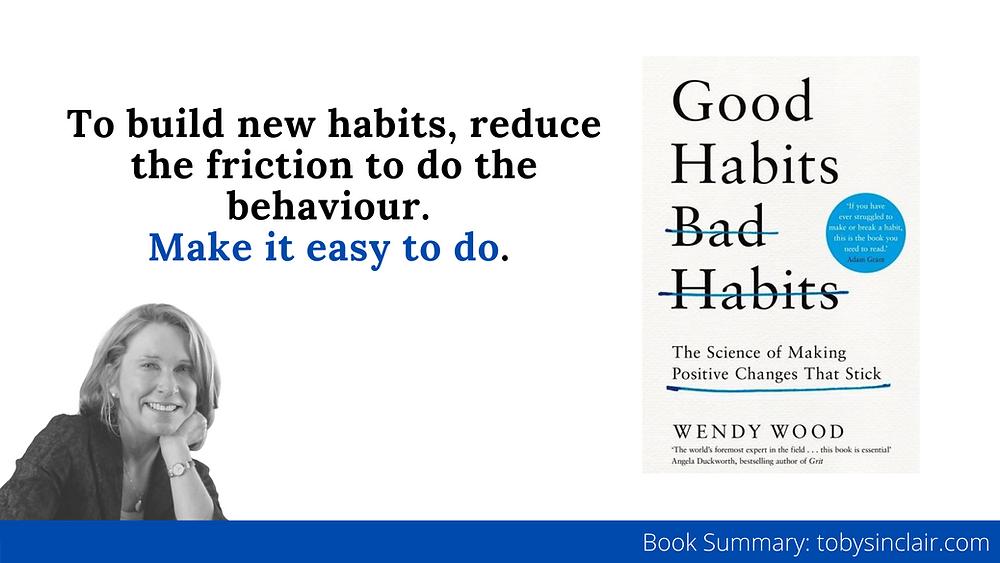Good Habits, Bad Habits Book Summary Banner