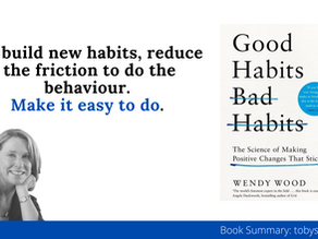 Book Summary: Good Habits, Bad Habits by Wendy Wood