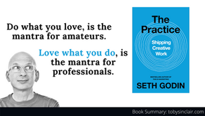 Book Summary: The Practice by Seth Godin   Shipping Creative Work