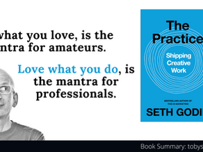Book Summary: The Practice by Seth Godin | Shipping Creative Work