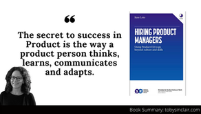 Book Summary: Hiring Product Managers by Kate Leto   Using Product EQ