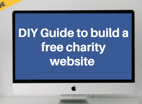 DIY Guide to build a free charity website