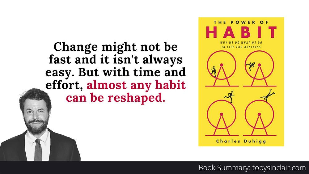 Power Of Habit Book Summary