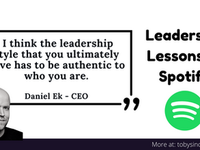 Leadership Lessons: Spotify Daniel Ek
