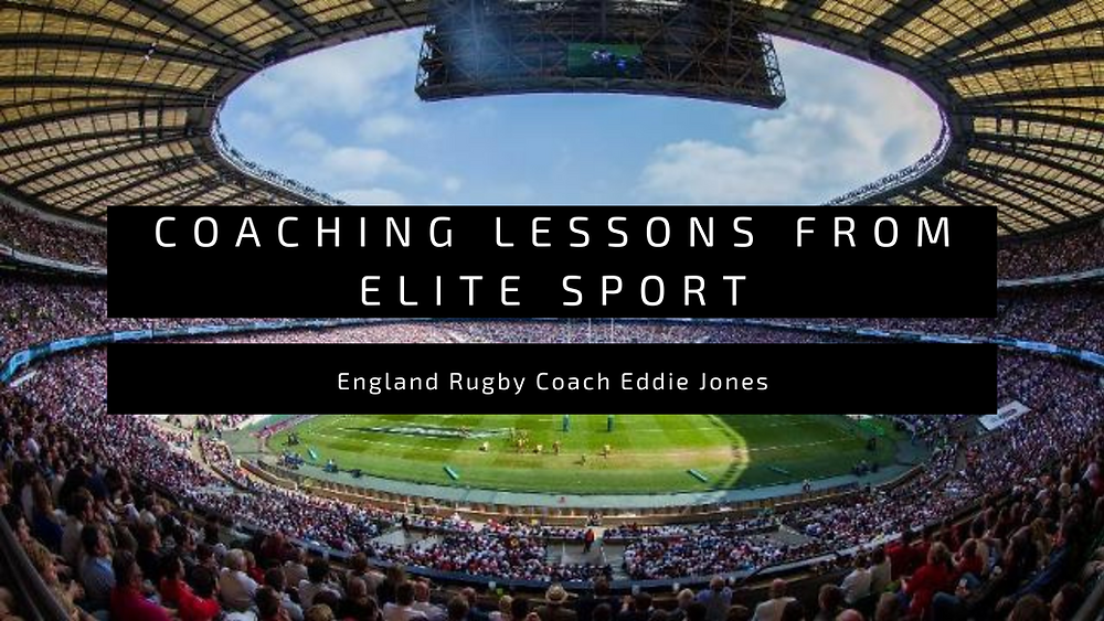 Coaching Lessons from Elite Sport