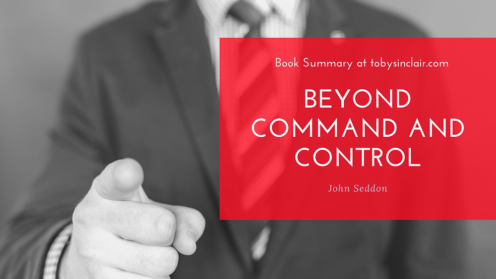 Beyond Command and Control Book Summary