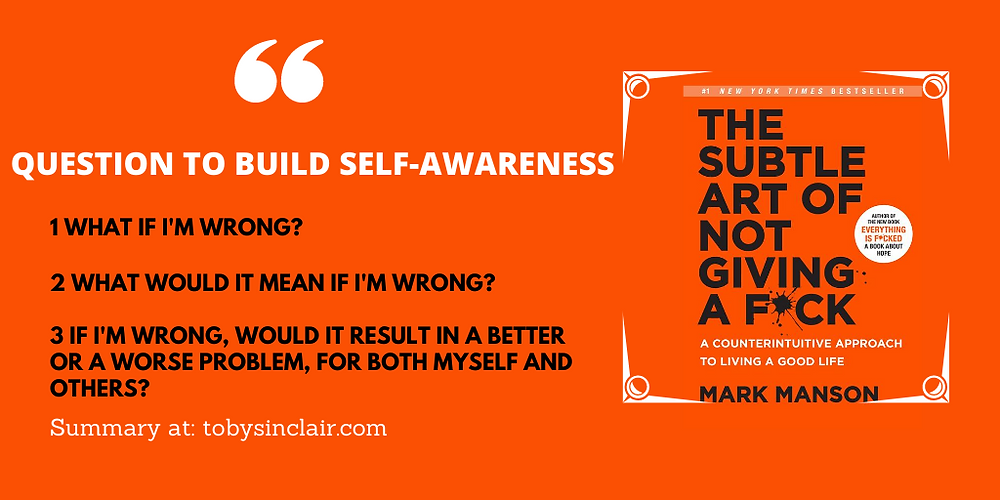 Questions to dive self-awareness