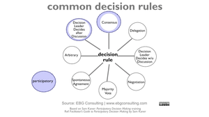 participatory decision making rules