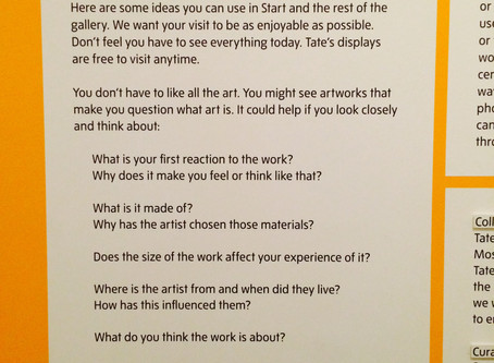 Powerful Coaching Questions at Tate Modern Gallery