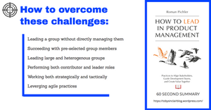 Book Summary of How to lead in Product Management by Roman Pichler