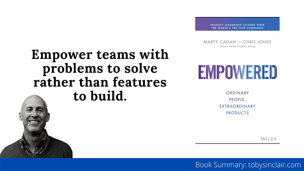 Empowered by Marty Cagan Book Summary Banner