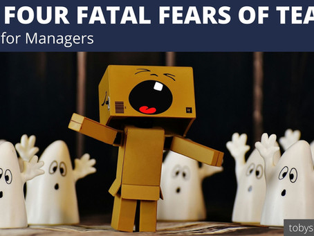 The Four Fatal Fears of Teams | Advice for Managers