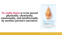 Book Summary: You're Not Listening by Kate Murphy | Big Ideas and Best Quotes