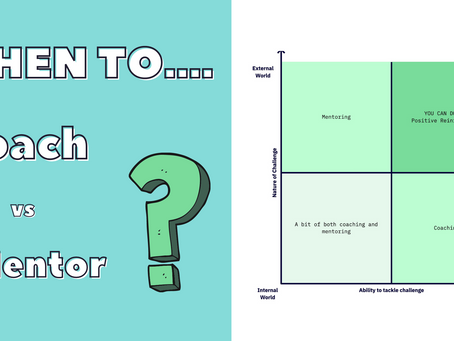 When To Coach vs Mentor | Coaching Skills for Technology Leaders
