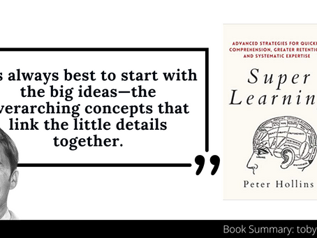 Super Learning Book Summary by Peter Hollins