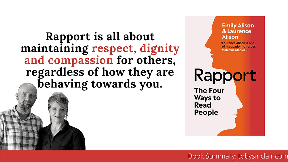 Rapport Book Summary Banner