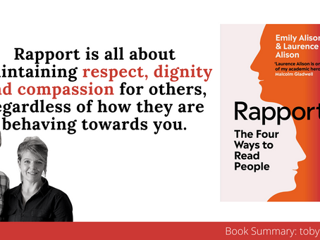 Book Summary: Rapport by Emily Alison and Laurence Alison
