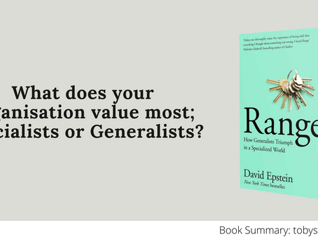 Book Summary: Range - Why Generalists Triumph by David Epstein | The 3 Big Ideas