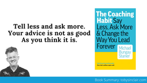 Book Summary: The Coaching Habit by Michael Bungay Stanier | Big Ideas and Best Quotes