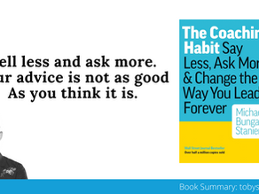 Book Summary: The Coaching Habit by Michael Bungay Stanier   Big Ideas and Best Quotes