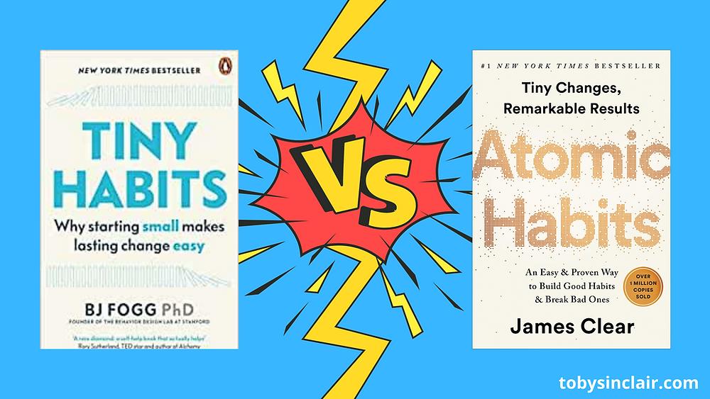 tiny habits vs atomic habits
