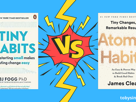 Tiny Habits vs Atomic Habits | Which should you read?