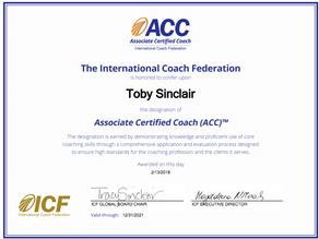 How I became an ICF Associate Certified Coach