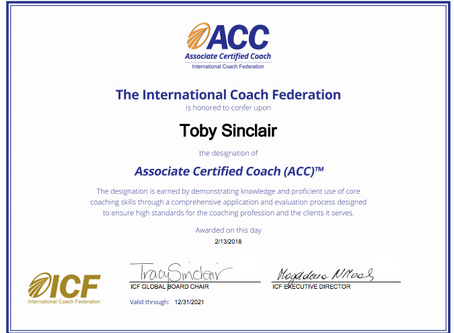 How I became an ICF Associate Certified Coach