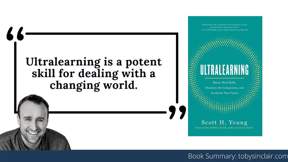 Ultralearning Book Summary Banner