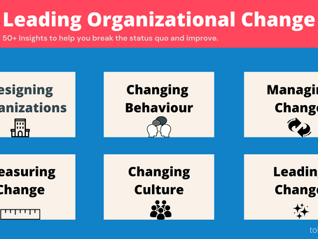 Leading Organizational Change | 50 + Insights for Leaders