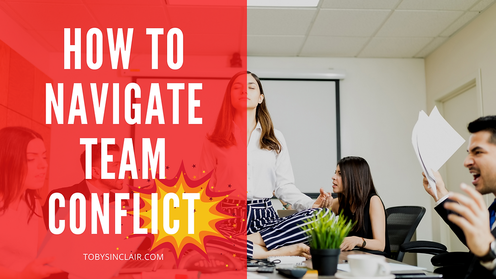 how to navigate team conflict