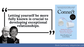 Connect Book Summary by David Bradford Carole Robin - Building Exceptional Relationships