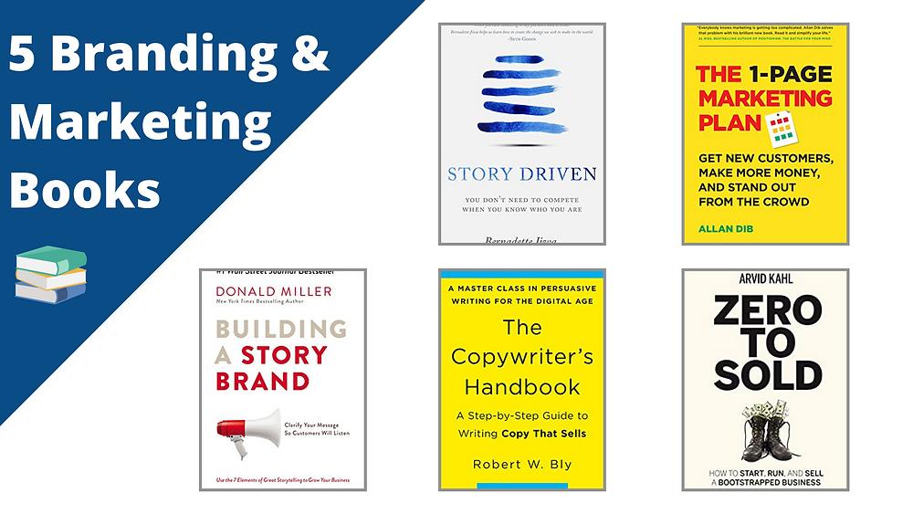 5 branding and marketing books