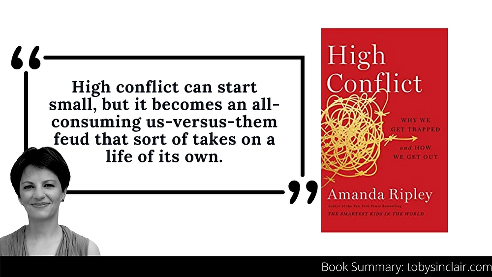 High Conflict Summary Banner