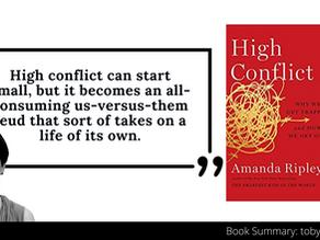 High Conflict Summary by Amanda Ripley