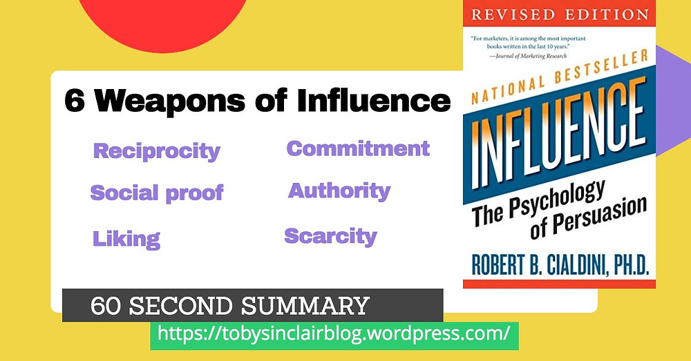 A book summary of Influence by Robert Cialdini
