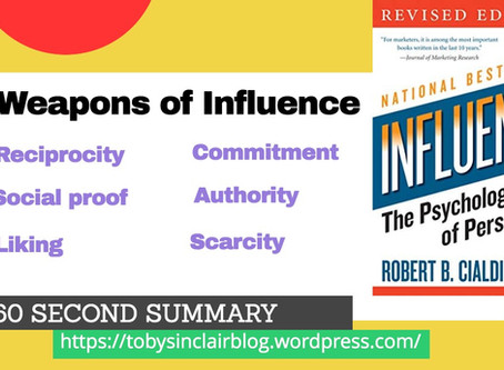 Book Summary: Influence by Robert Cialdini | The Big Ideas and Best Quotes