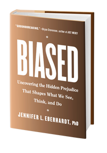 The Book Cover of Biased by Dr Jennifer Eberhardt