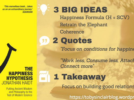 Book Summary: Happiness Hypothesis by Jonathan Haidt | Best Quotes and Secrets