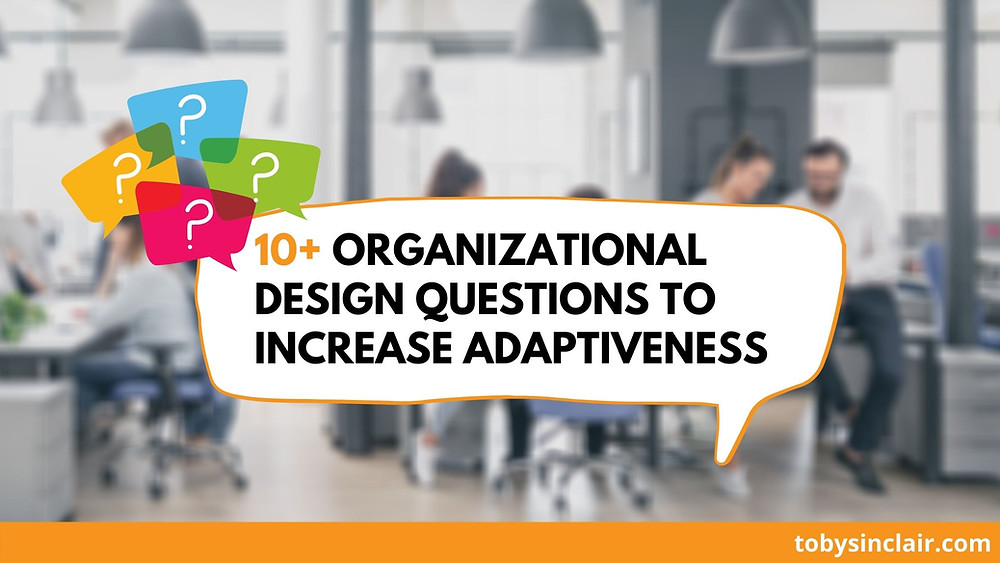 10+ Organizational Design Questions for Adaptiveness