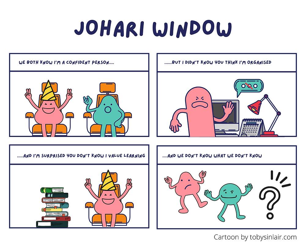 Johari Window Cartoon